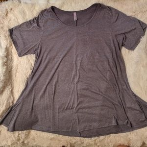 Lularoe 3x Gray Perfect Tee